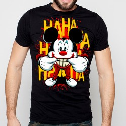 T-Shirt Mickey Joker Ha Ha Ha