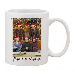 MUG Friends Christmas Portrait