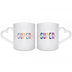 MUG BOX DUO Super Papa et Super Maman