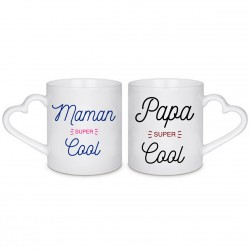 MUG BOX DUO Maman et Papa super cool