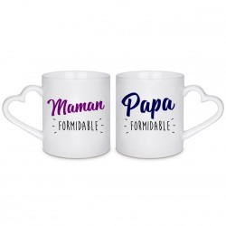 MUG BOX DUO Maman et Papa Formidable