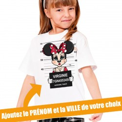 T-Shirt Enfant Minnie Mouse