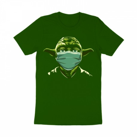 T-Shirt Yoda masque corona virus