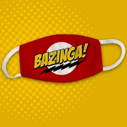 Masque Bazinga big bang theory