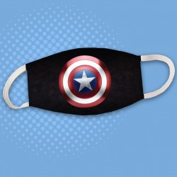 Masque Captain America logo