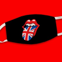 Masque The Rolling Stones union jack
