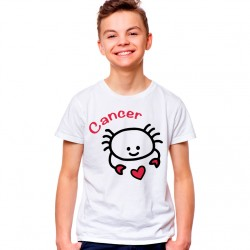 T-Shirt Enfant Signe astrologique Cancer