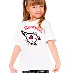 T-Shirt Enfant Signe astrologique Scorpion