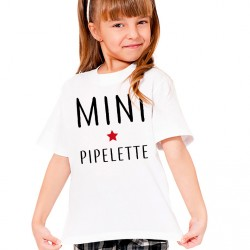 T-Shirt Enfant Mini pipelette