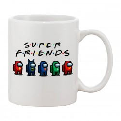 MUG Super Friends Among Us