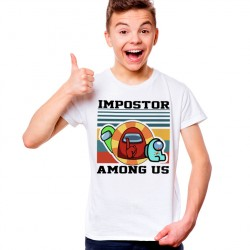 T-Shirt Enfant Impostor Among Us game