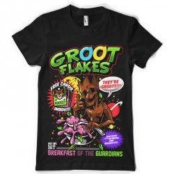 T-shirt Groot flakes