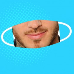 Masque Matt Pokora