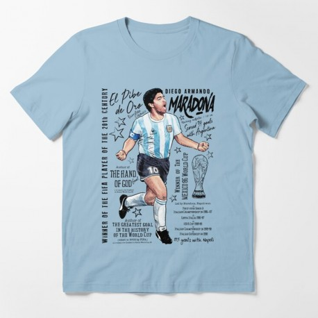 T-Shirt Fan de... Maradona