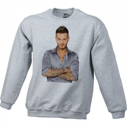 Sweat Shirt Gris - M. Pokora