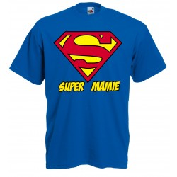 T-Shirt Super Mamie - Superman