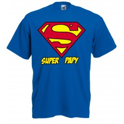 T-Shirt Super Papy - Superman