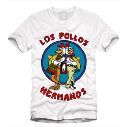 T-Shirt  Homme Los Pollos Hermanos - Breaking Bad