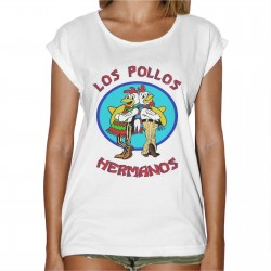 T-Shirt Femme Los Pollos Hermanos - Breaking Bad