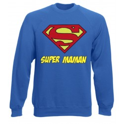 Sweat Superman Super MAMAN