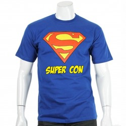 T-Shirt SUPERMAN Super CON
