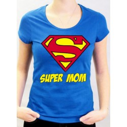 T-Shirt SUPERMAN Super MOM
