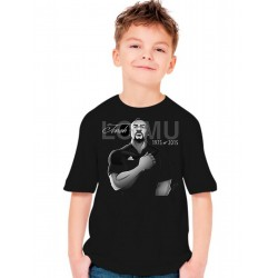 T-Shirt Jonah Lomu Rugby All Blacks Hommage - Enfant
