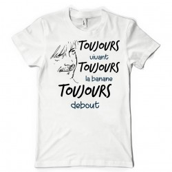 T-Shirt Fan de… Renaud, toujours vivant ! paroles