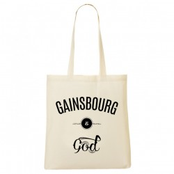 Tote Bag Gainsbourg is god