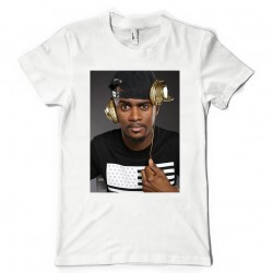 T-Shirt Fan de... Black M casque