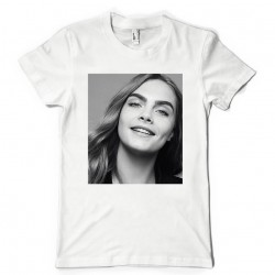 T-Shirt Fan de... Cara Delevingne nb