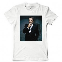 T-Shirt Fan de... Eddy Mitchell