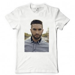 T-Shirt Fan de... Kendji Girac portrait
