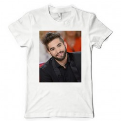 T-Shirt Fan de... Kendji Girac sourire
