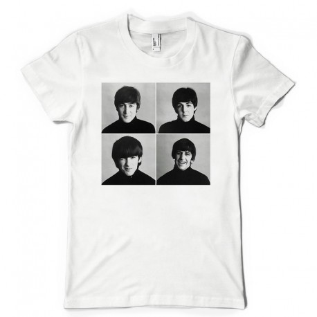 T-Shirt Fan de... Les Beatles
