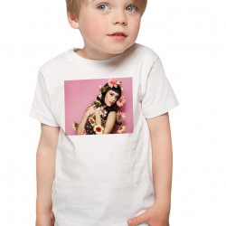 T-Shirt Enfant Blanc Katy Perry