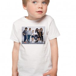 T-Shirt Enfant Blanc Kids united