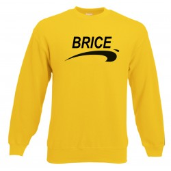 Sweat Adulte Jaune Brice de Nice 3 - Jean Dujardin
