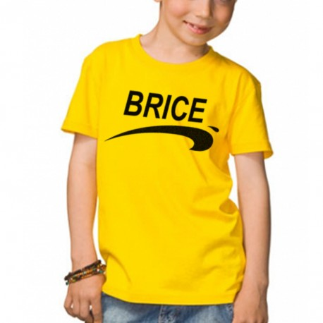 t shirt enfant jaune brice de nice 3 jean dujardin. Black Bedroom Furniture Sets. Home Design Ideas