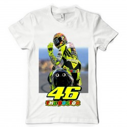 T-Shirt Fan de... Valentino Rossi 46 The doctor