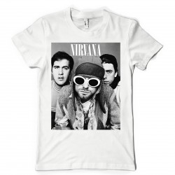 T-Shirt Fan de... Nirvana trio