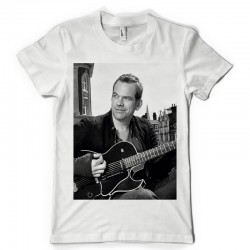 T-Shirt Fan de... Garou et sa guitare