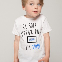 T-Shirt Enfant Fan de...  J'peux pas y'a TMPM Cyril Hanouna