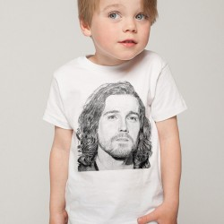 T-Shirt Enfant Fan de...  Julien Doré dessiné