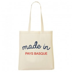 Tote Bag Made in Pays Basque