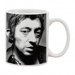 MUG fan de... Gainsbourg black and white