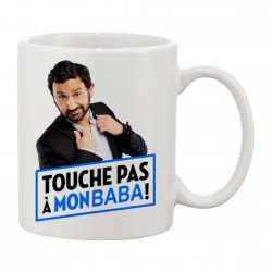 MUG Fan de... Touche pas à mon baba Cyril Hanouna