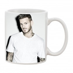 MUG Fan de... Pokora tatoué