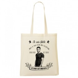 Tote Bag FIDELE Ryan Reynolds