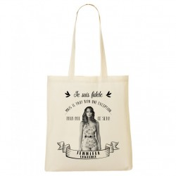 Tote Bag FIDELE Jennifer Lawrence